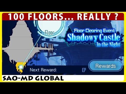 Shadowy Castle - Floor Clearing Event Live Stream - Floor 1-80 (SAO Memory Defrag)