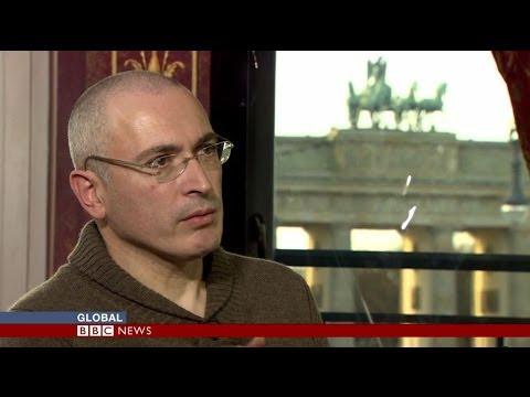 MIKHAIL KHODORKOVSKY ON PUSSY RIOT & OPPOSITION - BBC NEWS