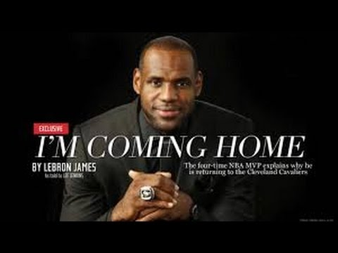 LeBron James Returns to the Cleveland Cavaliers