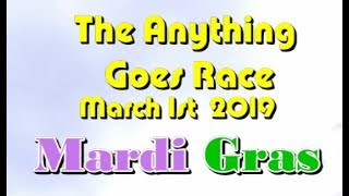 Anything Goes Race 2019  3 1 Mardi Gras