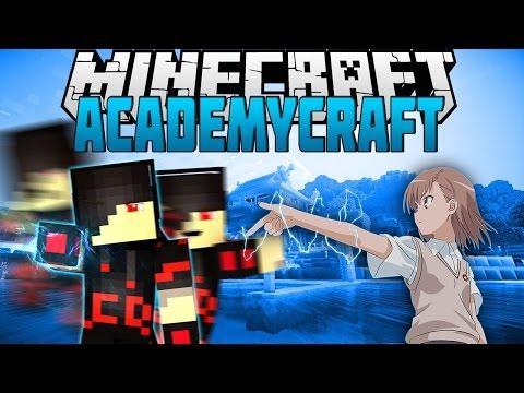 Minecraft: Mod Showcase - AcademyCraft [Part 1] [Superpowers And More]