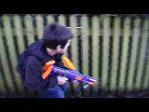 Nerf Battle: Capture the Flag