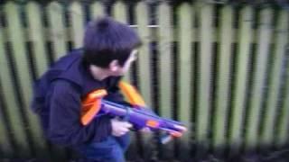 Nerf Bae: Capture the Flag