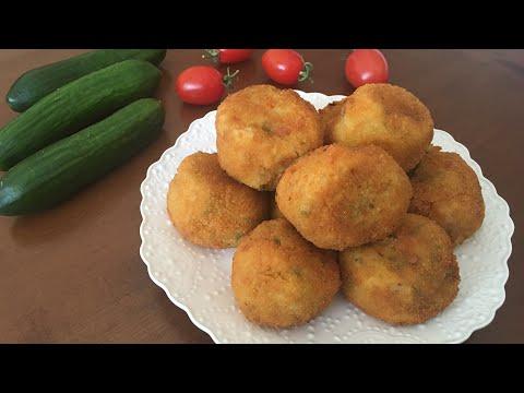 Kartoshka pyuresi va pishloqli kotlet / Котлеты из картофельных  пюре с сыром