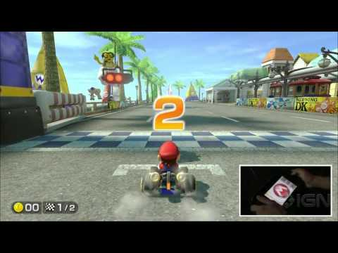 Mario Kart 8 Gameplay Demo - IGN Live - E3 2013