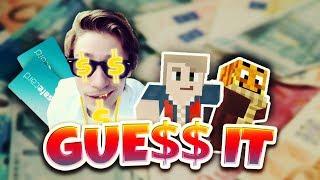 GELDGEILER Bergmann will eure PAYSAFE-CARDS? ★ Minecraft: GUESS IT! | Herr Bergmann