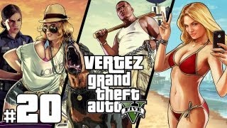 GTA 5 [PS3] #20 - Napad na bank - Vertez Let's Play / Zagrajmy w