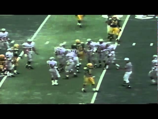 Oregon QB Danny O'Neil 10 yard run on 3rd & 7 vs. WSU 9-07-1991