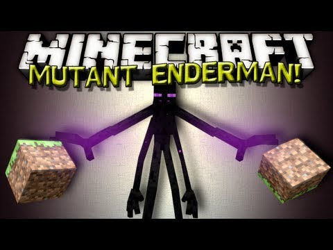Minecraft Mods - MUTANT ENDERMAN!!!