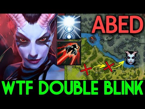 Abed Dota 2 Queen Of Pain Wtf Double Blink