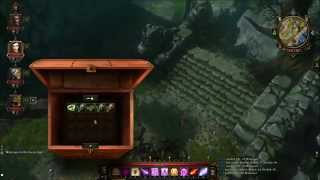 Divinity Original Sin - Desecrated Church - Old Church - Hidden Chests Puzzle - Hidden Keys - ACT1