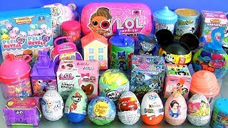 35 SURPRISE EGGS Toys Unicorn L.O.L. Under Wraps Doll Moj Moj