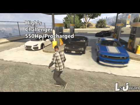 Grand Theft Auto V Online | Street Car Meet, 1/4 mile Drag racing | LsJwan