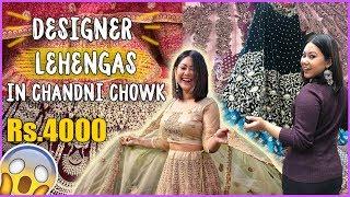 SHOP DESIGNER LEHENGA IN CHANDNI CHOWK |2019 BRIDAL/NON BRIDAL + MY LEHENGA |ThatQuirkyMiss
