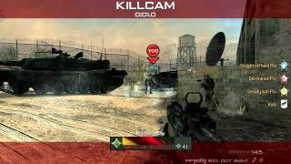 New melee in MW3? spinning back kick