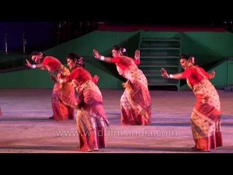 Assamese Bihu Dance - Sangai Fest 2013 video