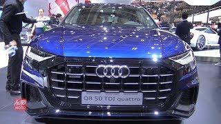 2019 Audi Q8 50 TDI Quattro - Exterior And Interior Walkaround - 2018 Paris Motor Show