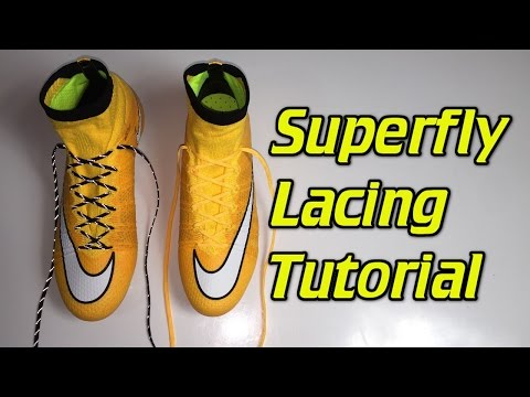How To Replace The Laces On The Superfly 4 - SR4U Laces Tutorial