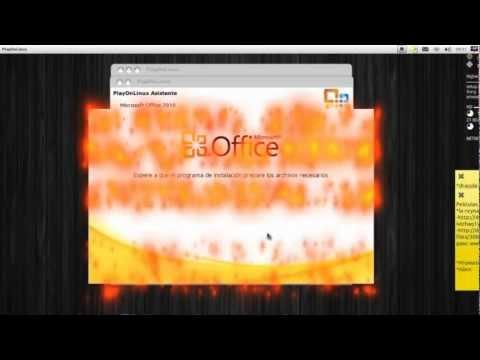Microsoft Office 2010 en Ubuntu 12.04 PlayOnLinux
