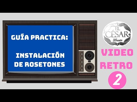 Instalacion de roseton el cesar youtube - Pegamento para escayola ...