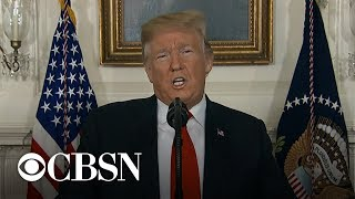 Democrats reject Trump's plan to end shutdown