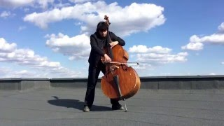 YOU RAISE ME UP - Aynur Zayni (double bass)