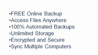 Backup Files Software - FREE Online Storage Backup! Files, Documents, Pictures. Computer, PC