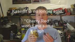 Kasenit / Cherry Red Instructions, Case Hardening at Home