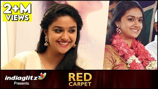Mine will be a Love Marriage – Keerthi Suresh Interview | Remo Red Carpet | About Vijay, Bhairava