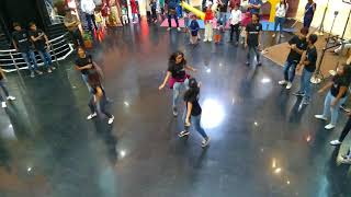Street Cause flash mob in city centre Hyderabad
