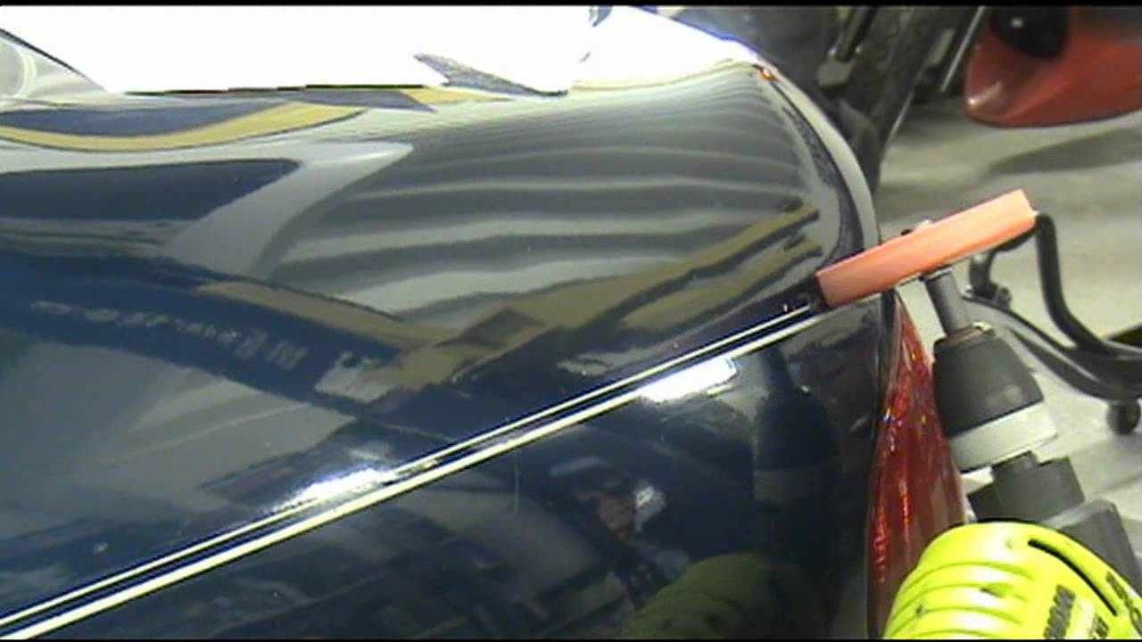 Removing Pinstripes From New Car