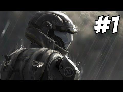 Halo 3 ODST Walkthrough   Prepare To Drop / Mombasa Streets   Part 1 [Xbox 360]