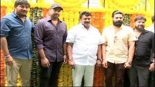 Sree Vishnu New Telugu Movie Pooja Ceremony with Nara Rohit and Team