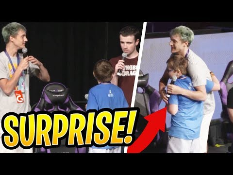 Ninja and DrLupo SURPRISE a Young St. Jude Patient! - Fortnite Best and Funny Moments