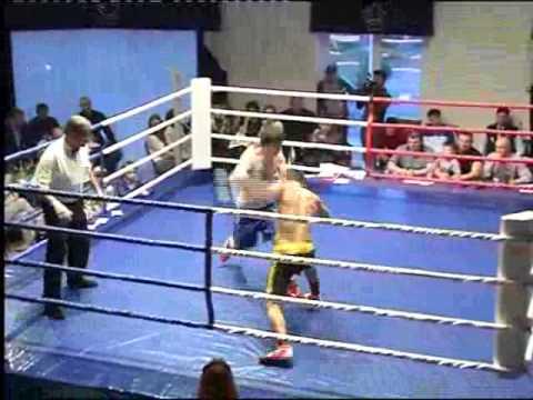 Дебют Сослана Тедеев а на профессиональном ринге