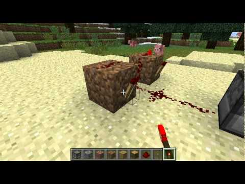 Minecraft : How to make a gun | ماين كرافت : كيف تسوي مسدس