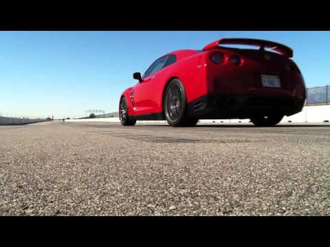 2012 Nissan GT-R - First Test Music Videos