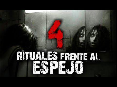 4 Rituales peligrosos y aterradores que se pueden hacer frente al espejo