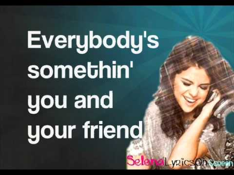 Selena Gomez & The scene - Spotlight - Lyrics On Screen