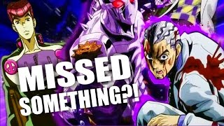 A JOJO EASTER EGG WE ALL MISSED | Diamond is Unbreakable Analysis