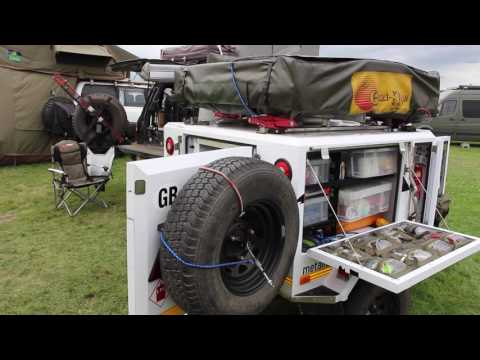 the best off road trailer set up at the adventure overland show.
