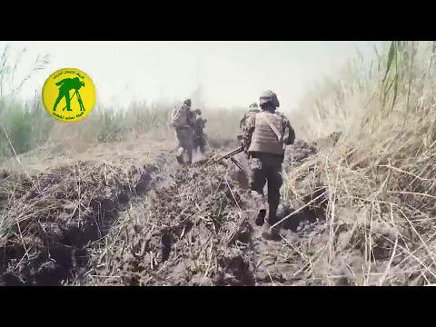 Iraqi PMU Dawn combat operations against ISIS in North Fallujah City