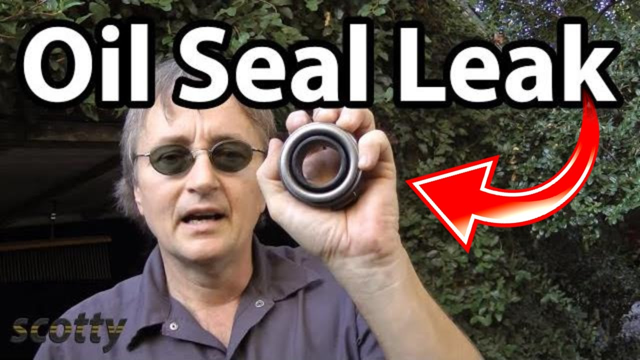 Fixing Oil Seal Leaks Fast Youtube