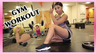 MY MINI GYM ROUTINE  | AALIYAHJAY