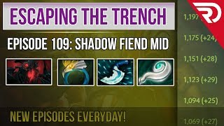 Escaping the trench - Legend 3 - 3770 MMR - Shadow Fiend Mid