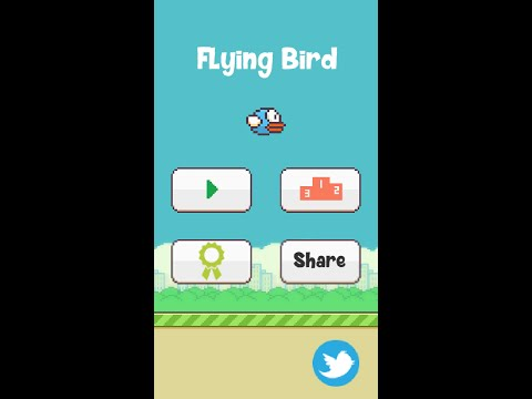 Blue Flying Bird Video Demo - Unity 5 Android Game