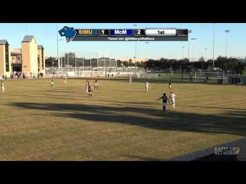 Replay: StMU Men's Soccer vs. McMurry