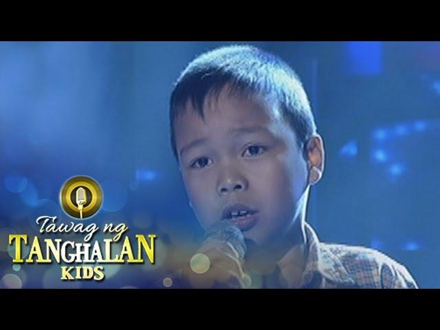 Tawag ng Tanghalan Kids: Dexsel Plaza   Help