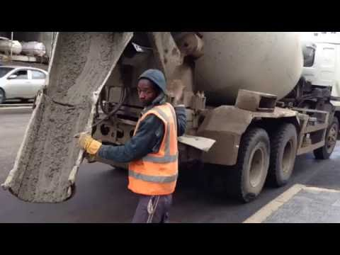 Building Foundation For Street Light Poles - Addis Ababa Construction