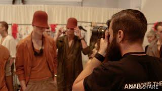 Shooting backstage at New York Men's Fashion Week with Adam Katz Sinding